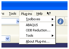 Abaqus_Plugin_menu
