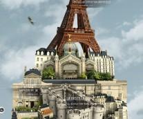 프랑스 파리에 가기전에 꼭 다운 받아야 할 무료 3D 앱 추천!