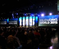 아리조나 피닉스에서 솔리드웍스 월드 2015가 시작됐습니다!