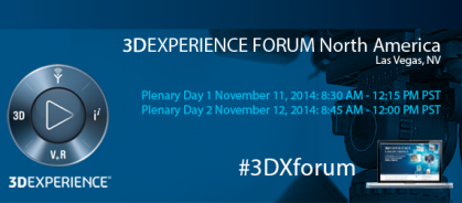 Watch the Free Live Streaming of the the 3DEXPERIENCE FORUM