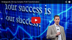 Strategically Driving Complex PLM Transformation