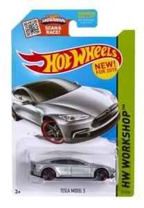 Tesla Hotwheels Car