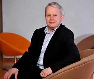 Jean Colombel, Vice President of the Life Sciences Industry at Dassault Systèmes