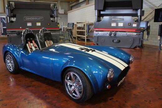 The final 3D printed car