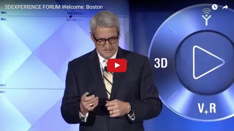 3DEXPERIENCE FORUM 2015 Welcome Boston