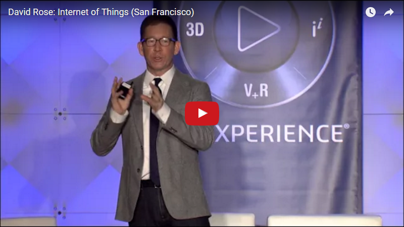David Rose Internet of Things San Francisco