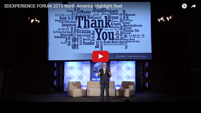 3DExperience Forum 2015 Highlight Reel