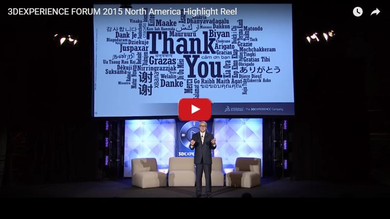 3DExperience Forum 2015 Highlight Reel