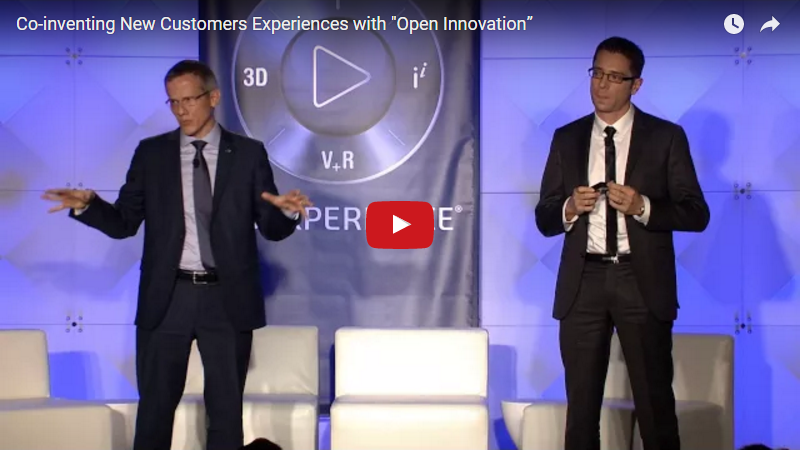 Coinventing New Customers Experiences with Open Innovation