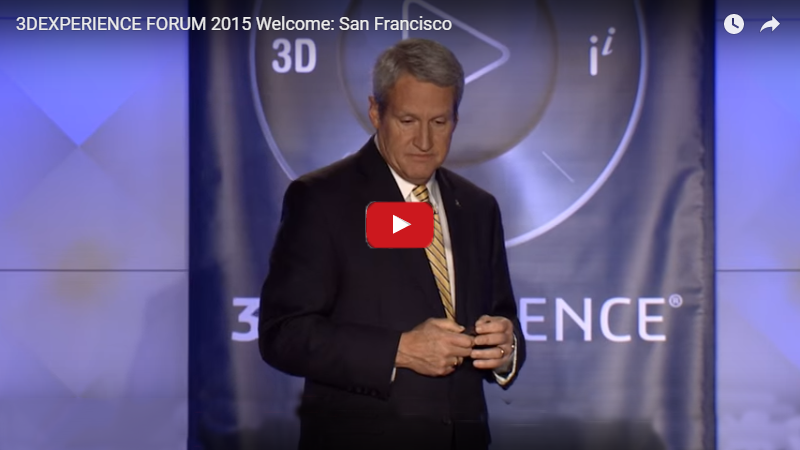 3DEXPERIENCE FORUM 2015 Welcome San Francisco
