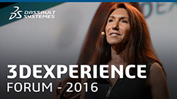 Monica Menghini at 3DEXPERIENCE FORUM in North America, 2016
