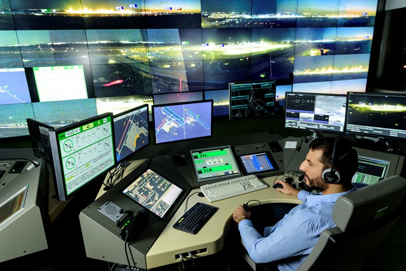 Safer Skies: How Air Traffic Control Towers Use 3D
