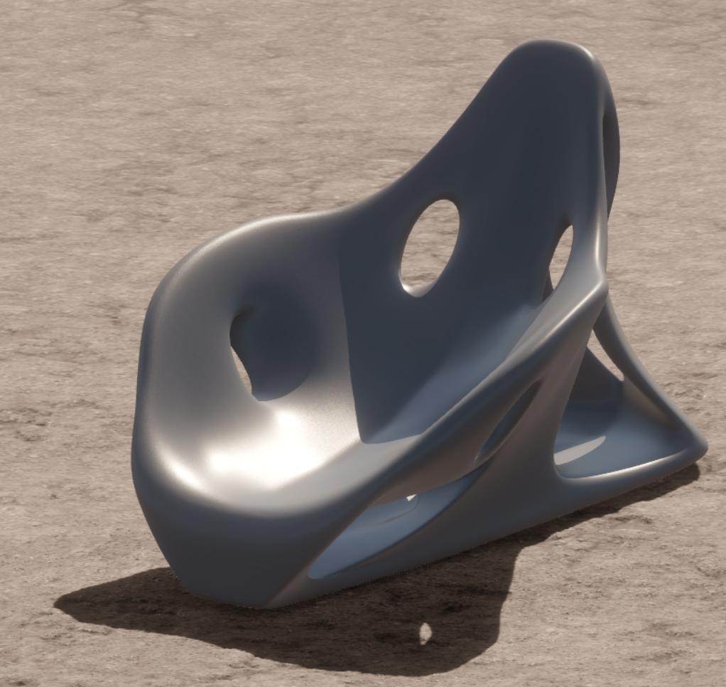 Xuberance Chair Rendered