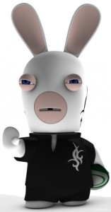 Raving Rabbids, design, 3D
