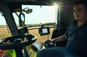 CLAAS machinery in action