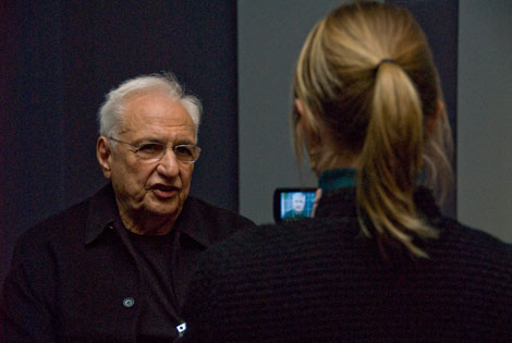Three Questions for Frank Gehry