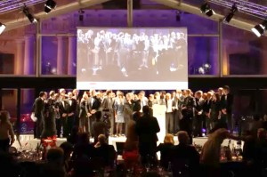 2014 Festival de l'Automobile International - all winners on stage