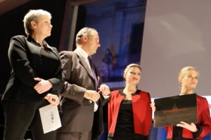 Anne Asensio and Pierre Marchadier on FAI 2014 stage