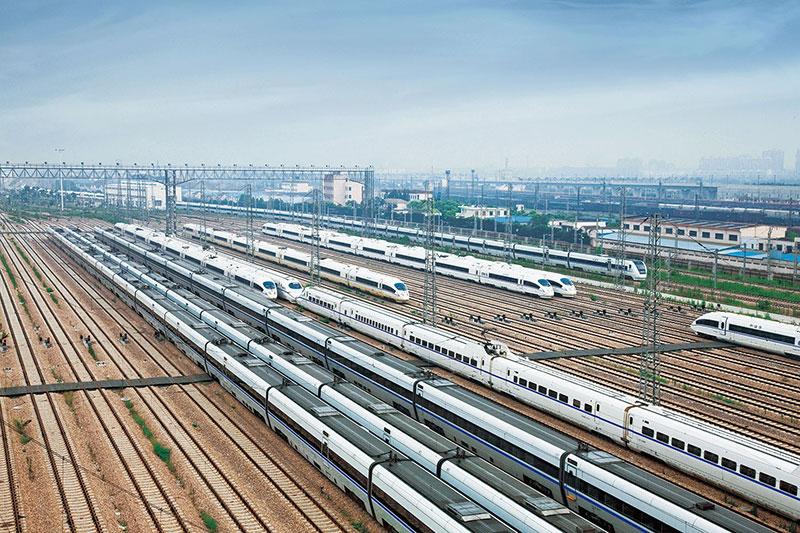 Shanghai Motor Train Units Depot