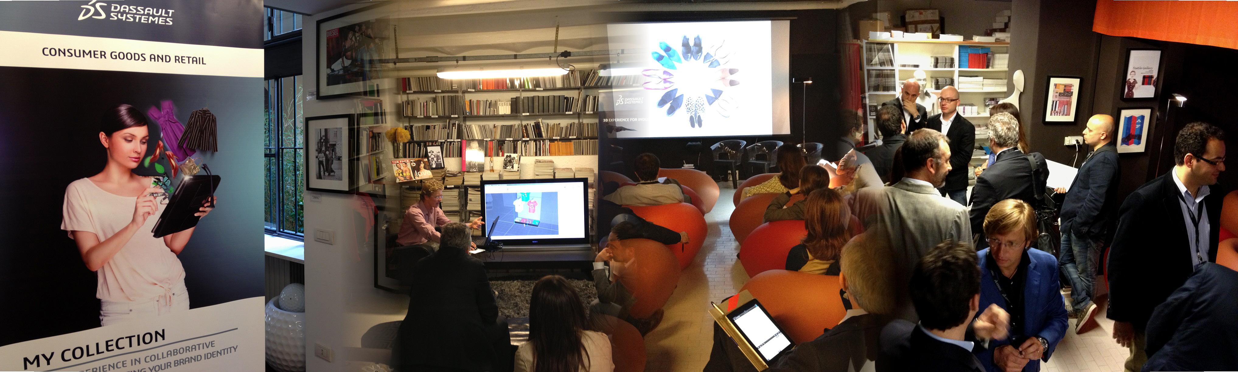 Technology Defile at Biblioteca della Moda in Milan