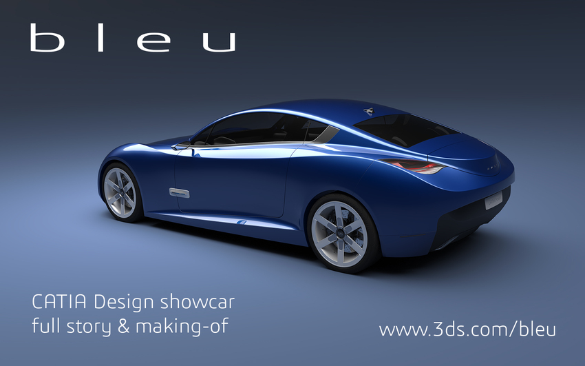 ' b l e u ': The CATIA Design Showcar