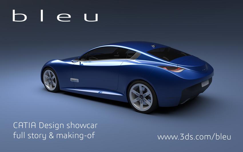 ' b l e u ': The CATIA Design Showcar