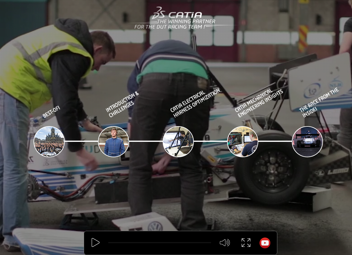 CATIA, the Winning Partner for the DUT Racing team