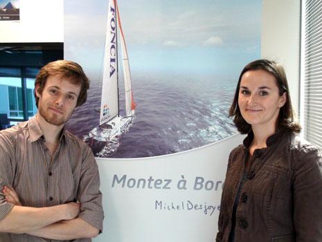 Michel Desjoyeaux Serious Game catia barcelona world race 3DS dassault systèmes sailing 3dvia virtools composer