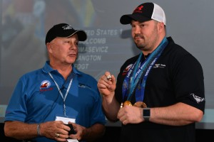 Geoff Bodine and Steve Holcomb