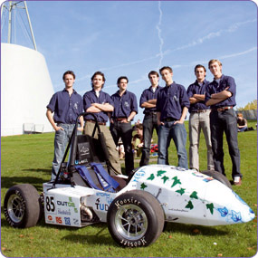 DUT Students Put Carbon Inside Race Car, Not in the Air!