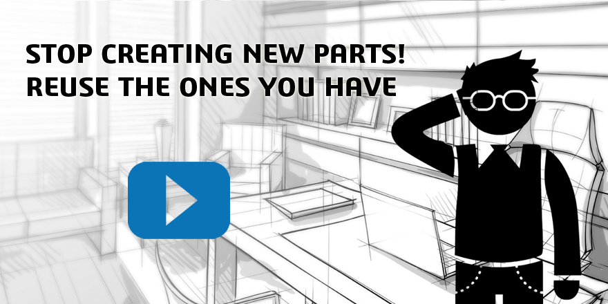See how much your company could save with Parts reuse!