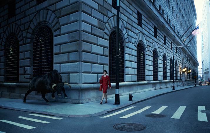 Buffalo on Wall Street