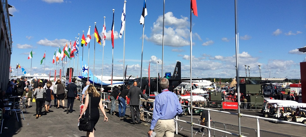 Live from #FIA14 (Farnborough International Airshow)