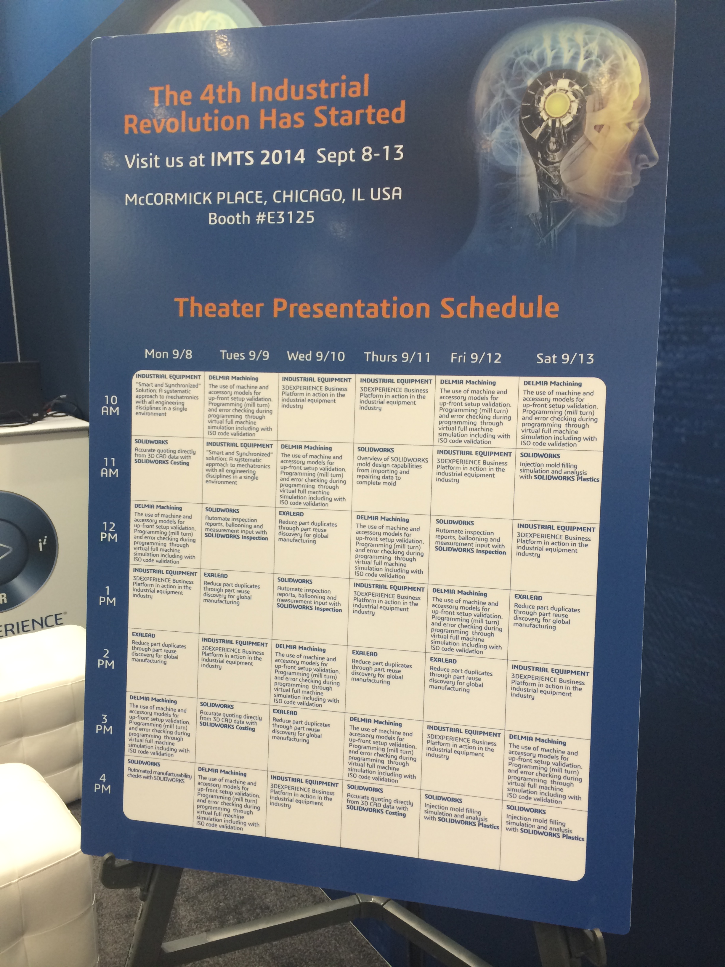 Incredible things will happen at #IMTS 2014 will you be part of it?