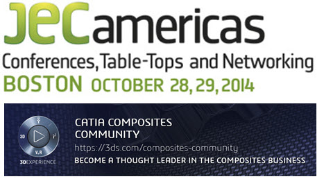 JEC Americas 2014 in Partnership with CATIA – October 28, 29 in Boston