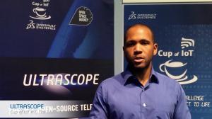 Jordan McRae, the winner of Cup of IoT