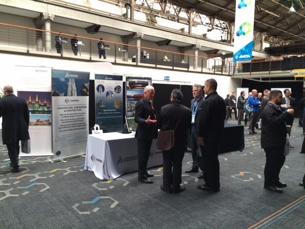 MEMKO and Dassault Systèmes' Exhibit at the 2016 BIM-MEP AUS Construction Innovation Forum