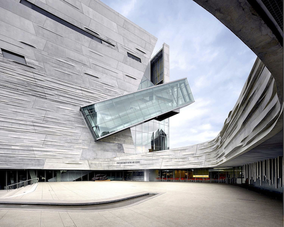 Perot Museum of Nature and Science in Dallas. Photo credit: Roland Halbe