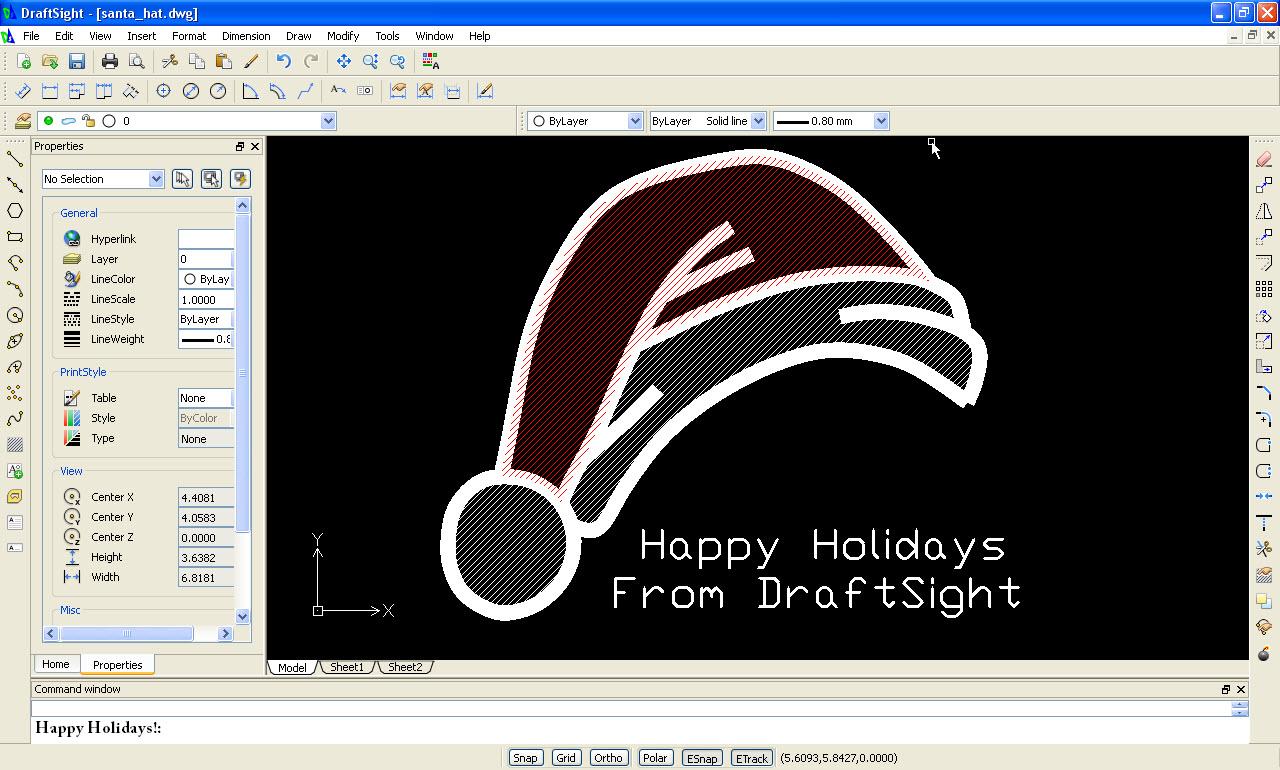 Happy Holidays from DraftSight!