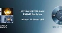 ENOVIA Keys to 3DEXPERIENCE – Italy User Group Meeting