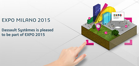 Dassault Systèmes and EXPO 2015: Partnering for A More Sustainable Future