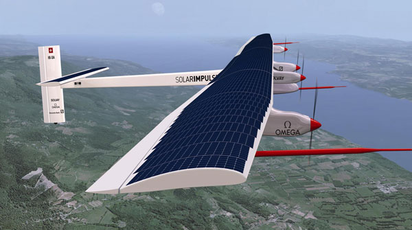 First Solar-Powered Flight Across America Lands in New York