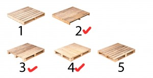 Different types of Palette wood