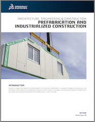 Whitepaper: Prefabrication and industrialized construction