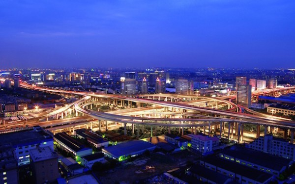 Shanghai Puxi section of the Ring Road project in China (Image © SMEDI)