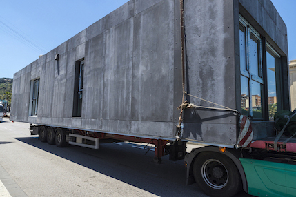 Limited space presents challenges for prefabrication delivery processes