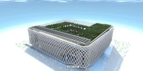 Virtual French Pavilion in 3DVIA