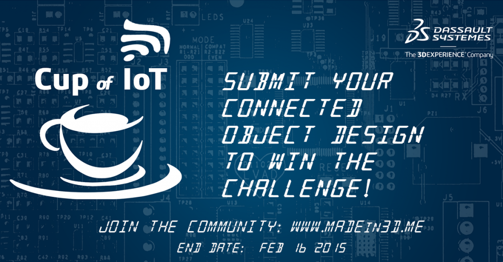 Enter the Cup of IoT contest!