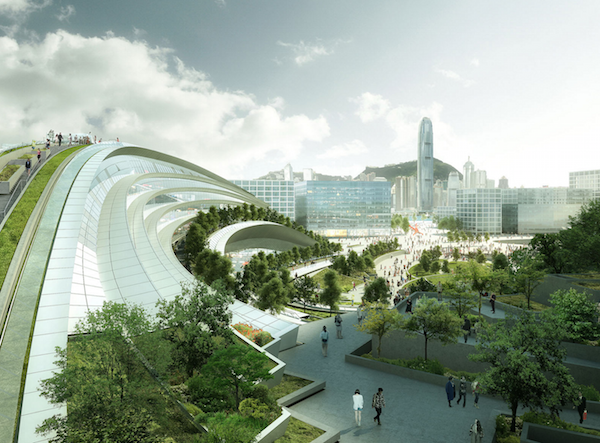 West Kowloon Terminus. SOURCE.