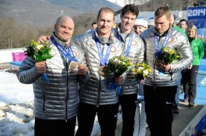 American Bobsled Team in Sochi